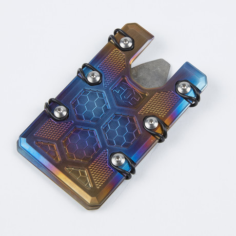 2.5 Wallet // Flame Anodized