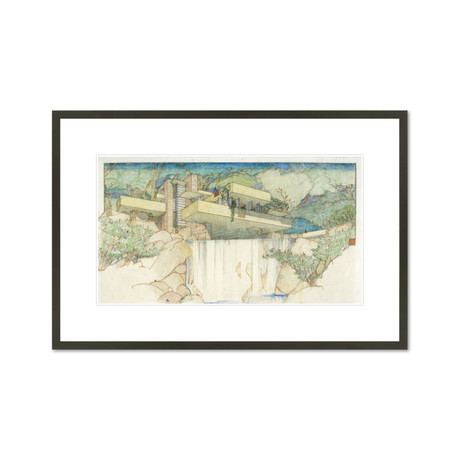 Frank Lloyd Wright Framed Art Prints Touch Of Modern