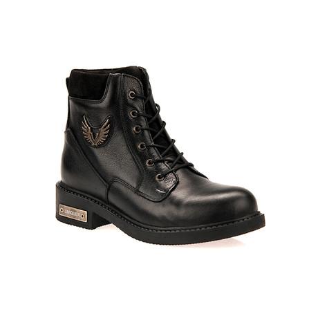Uniquer Siyah Eagle Boot II // Black