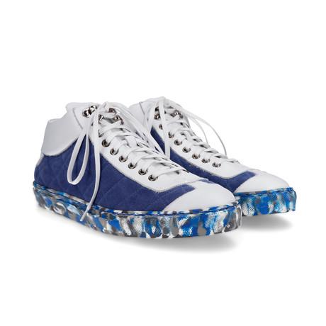 Morritz Sneakers // Blue + White