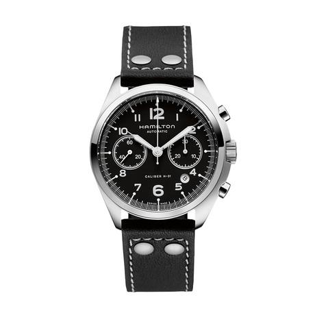 Hamilton Khaki Pilot Pioneer Chronograph Automatic // H76416735