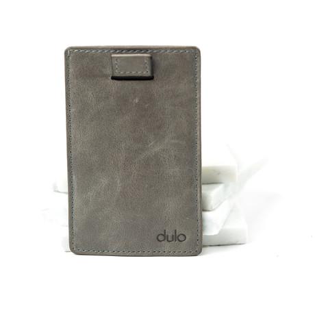 Nash Solo Wallet // Grey