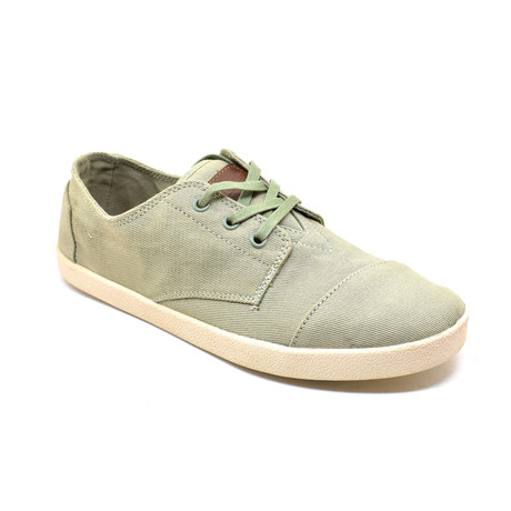 Men's Lace-Up // Sage Canvas