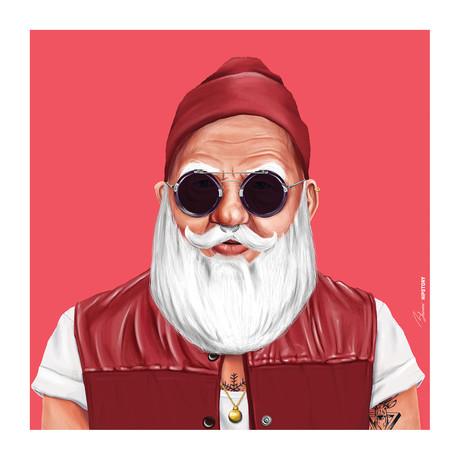 "Santa (18""W x 18""H x 0.75""D)"