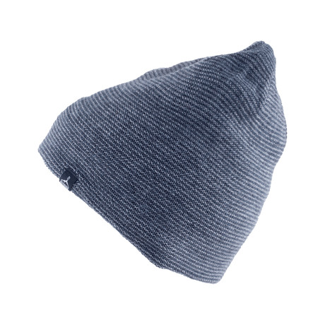 Hybrid Beanie (Black + Dark Gray)