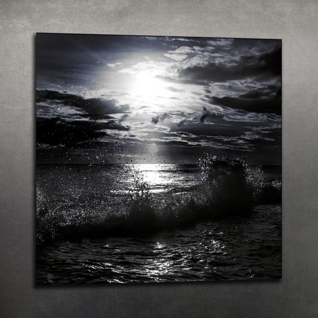 Black Sunset // Acrylic