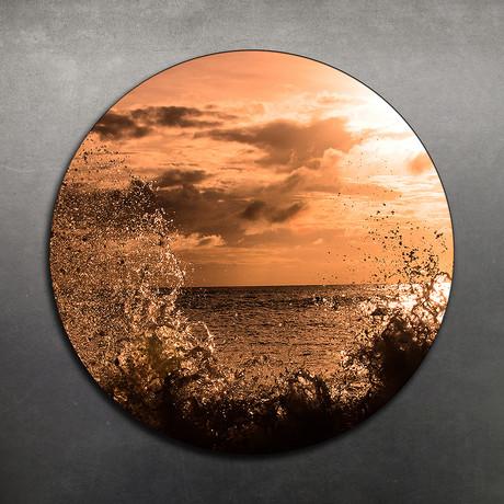 Sunset Splash // Aluminium