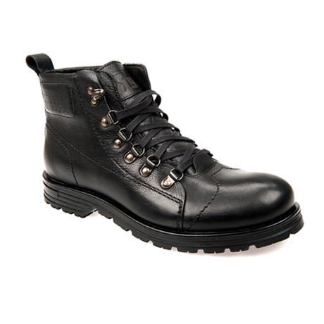 Armes Leathe Boot // Black