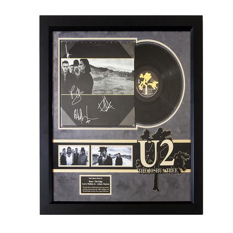 Signed + Framed Album Collage // U2
