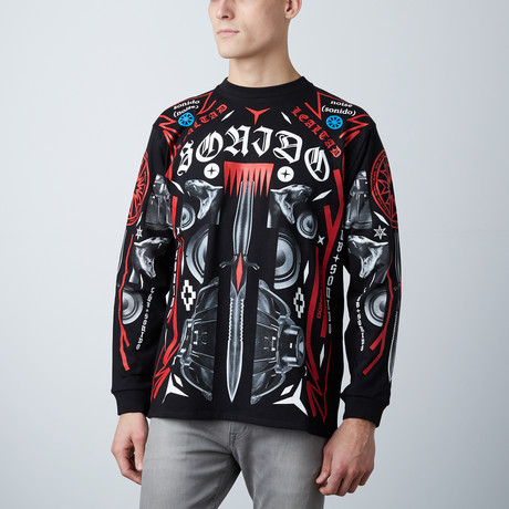 Marcelo Burlon // Palben Long Sleeve // Black