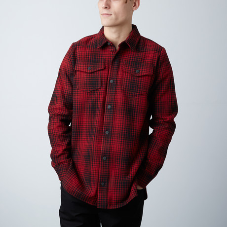 Off White // Tartan Shirt // Red + Black