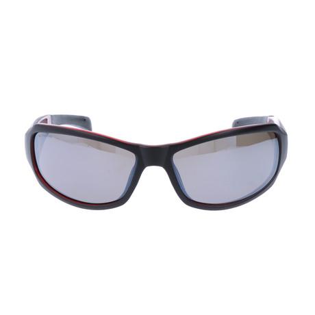 Grayer Sunglasses // Black + Red
