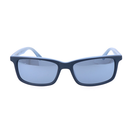 Norris Lake Sunglasses // Navy + Light Blue
