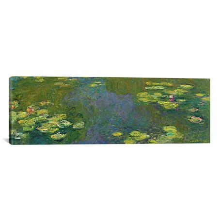 "The Waterlily Pond (Le Bassin aux Nympheas), 1919 (36""W x 12""H x 0.75""D)"
