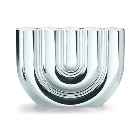 Double U Candle Holder