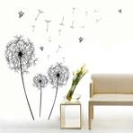 Black Dandelion Flower
