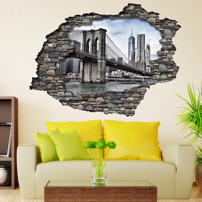 3D View Brooklyn Bridge - Walplus - Touch of Modern