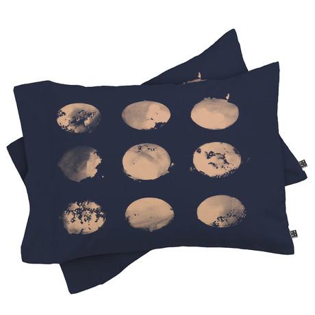 Douze Lunes // Pillow Case // Set of 2