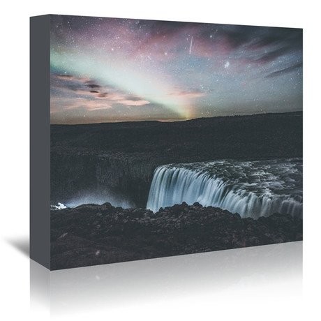 Dettifoss Iceland Ii // Canvas Print