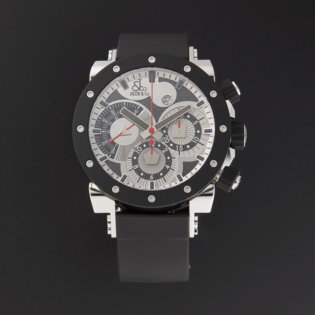 Jacob & Co. Epic II Chronograph Automatic // Limited Edition // E1R // New