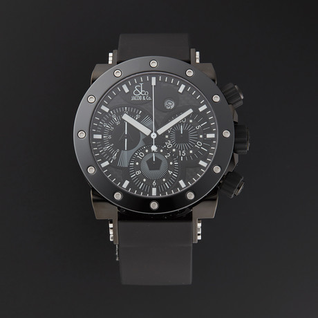 Jacob & Co. Epic II Chronograph Automatic // Limited Edition // E2C // New