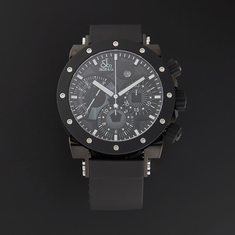 Jacob & Co. Epic II Chronograph Automatic // Limited Edition // E2R // New