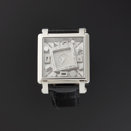 Jacob & Co. Metropoli Quartz // Limited Edition // MANSSB