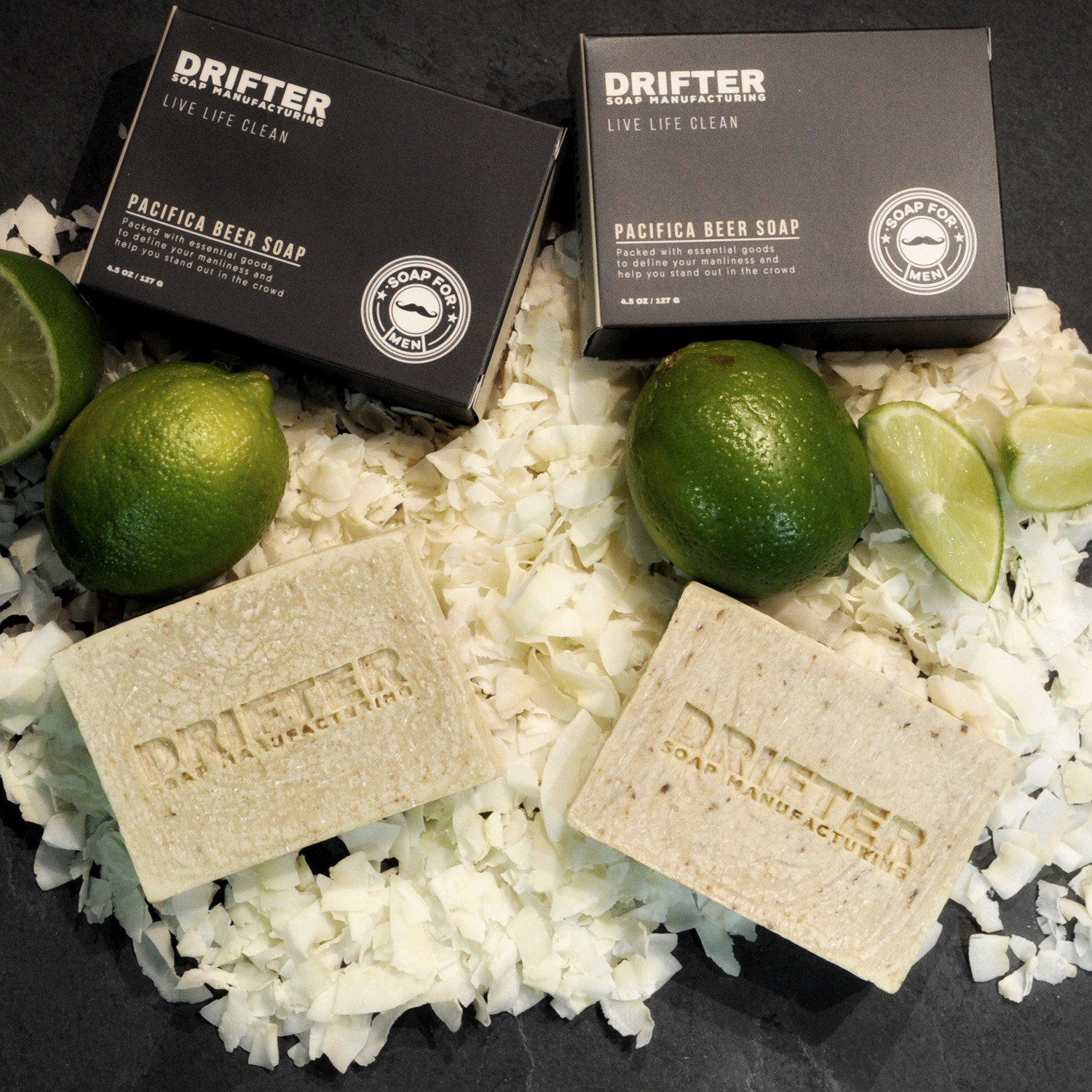 Pacifica beer soap set of 2 drifter grooming touch of modern pacifica beer soap set of 2 nvjuhfo Choice Image