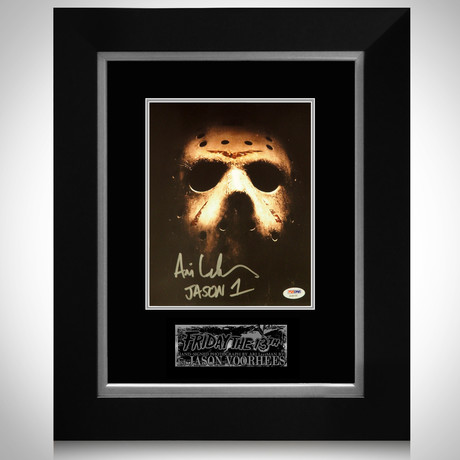 Friday The 13Th // Jason Vorhees Signed Photo // Custom Frame