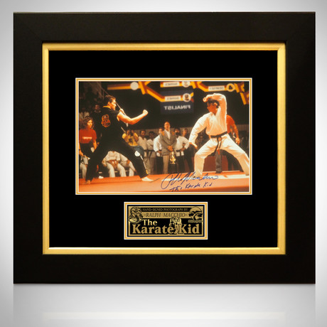 Karate Kid // Daniel San Signed Photo // Custom Frame