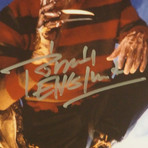 Nightmare On Elm Street // Freddy Krueger Signed Photo // Custom Frame