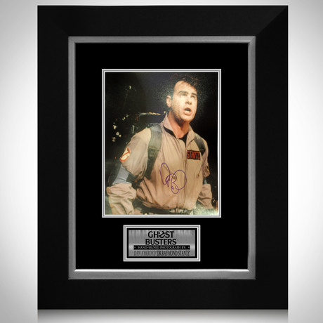 Ghostbusters // Dan Aykroyd Signed Photo // Custom Frame
