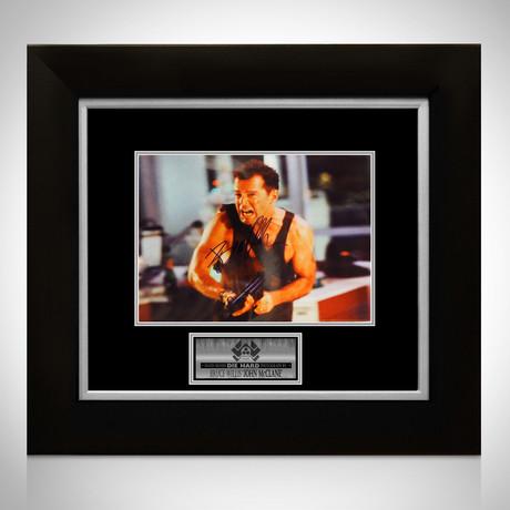 Die Hard // Bruce Willis Signed Photo // Custom Frame I
