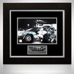 Back To The Future // Michael J Fox + Christopher Lloyd Signed Photo // Custom Frame