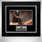 Star Wars Darth Vader // James Earl Jones Signed Photo // Custom Frame
