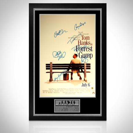 Forrest Gump // Cast Signed Poster // Custom Frame