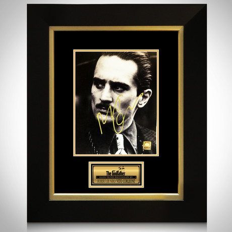 Godfather Vito Corleone // Robert De Niro Signed Photo // Custom Frame
