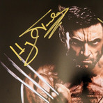 Wolverine // Hugh Jackman + Stan Lee Signed Photo // Custom Frame