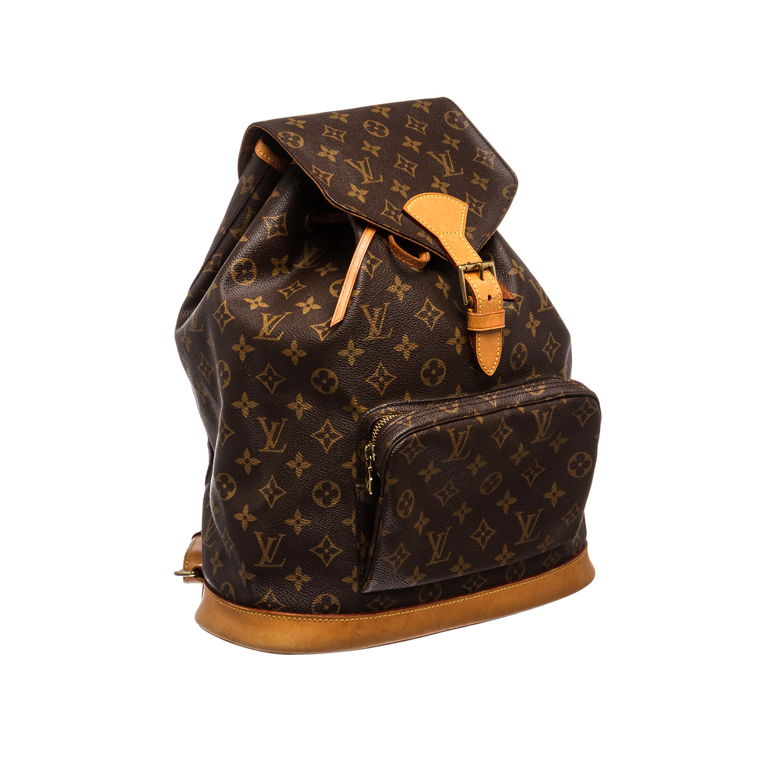louis vuitton monogram montsouris gm backpack sd0976 pre owned louis vuitton mcm. Black Bedroom Furniture Sets. Home Design Ideas