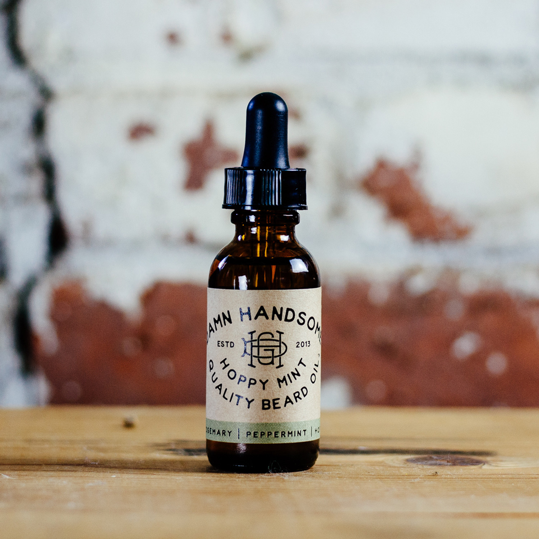 Hoppy Mint Set // Beard Oil + Lip Balm