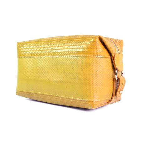 Wash Bag // Yellow // Large