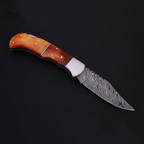 Pocket Folding Lock Back Knife