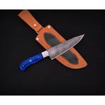 Damascus Kitchen Knife // 9101