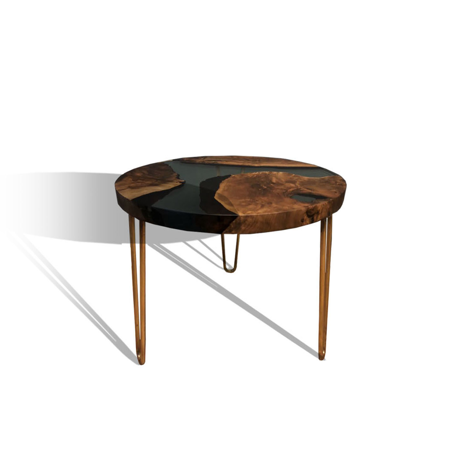 Resin Wood Coffee Table Wrct001 Naturalist Touch Of Modern