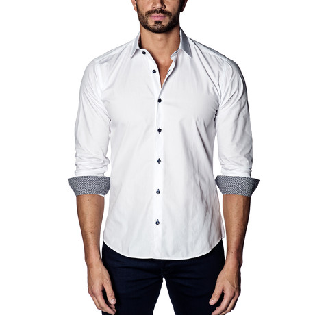 Woven Button-Up II // White (S)
