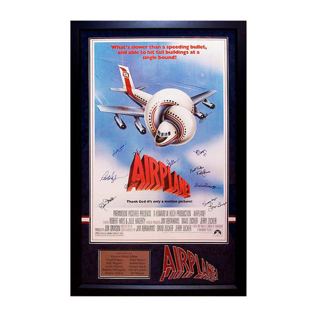 Autographed Movie Poster // Airplane!