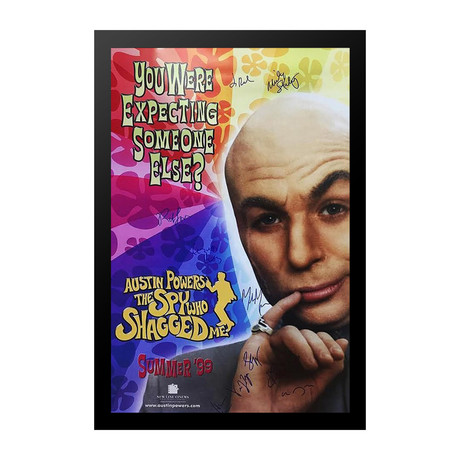 Autographed Movie Poster // Austin Powers II