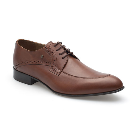Petri Leather Shoe // Light Brown