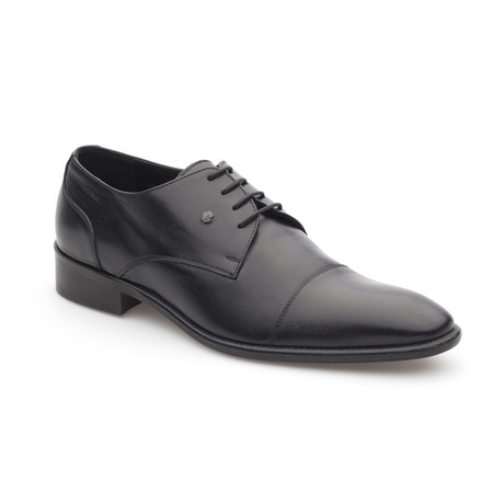 Paavo Leather Shoe // Classic Black