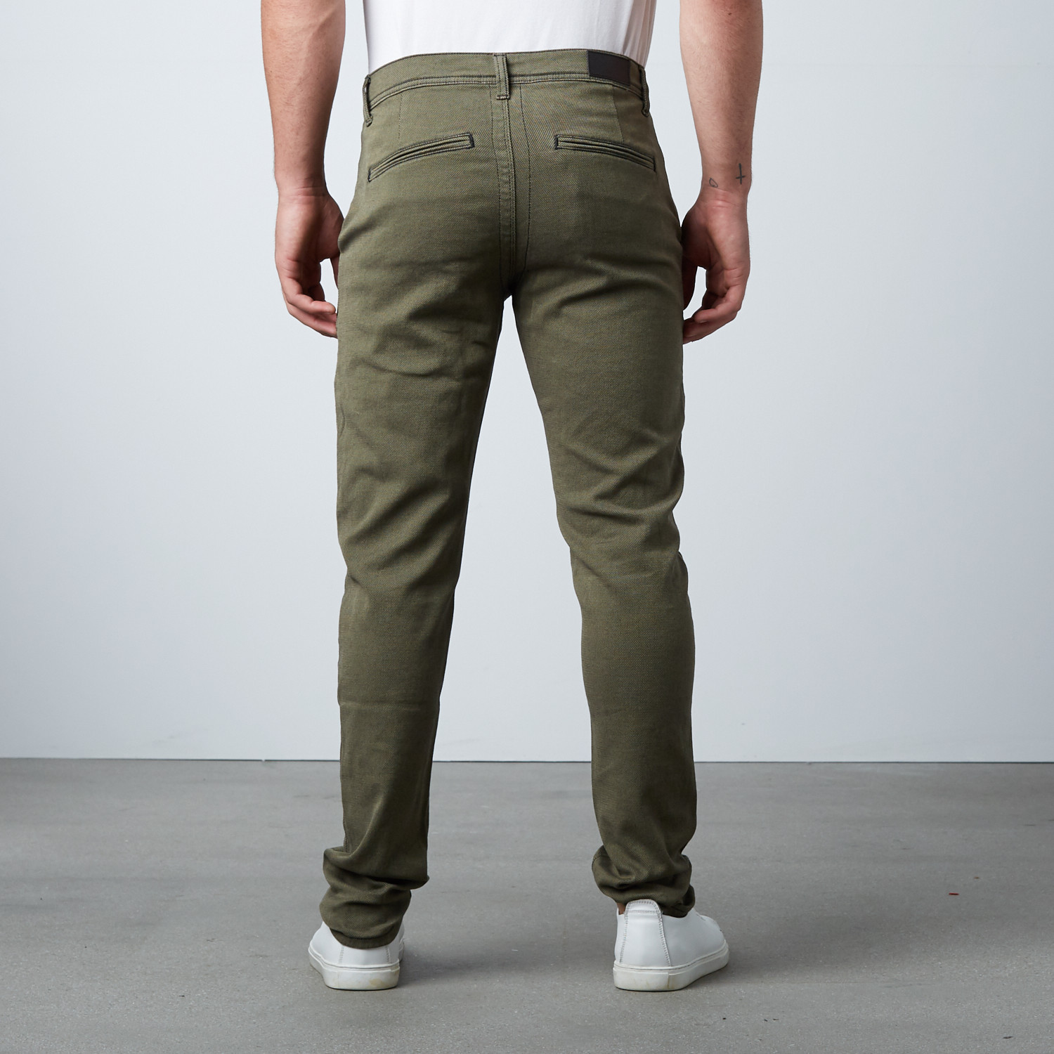 """Signature """"The Perfect Pants"""" // Army Green (28WX31L ..."""